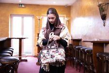 Gobelin Tasche im Paris Style Handtasche Shopper Henkeltasche Schultertasche NEU