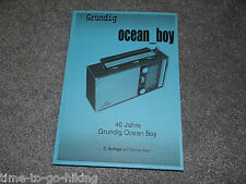 40 YEARS GRUNDIG OCEAN BOY SIGNED BY AUTHOR THOMAS BAIER GERMAN LANGUAGE BOOK