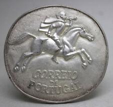 CTT CORREIOS DE PORTUGAL Lisbon Postal Museum 1st Centenary Bronze Medal 1978