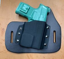 Sig Sauer P365 with TLR-6 Leather Kydex Hybrid OWB holster