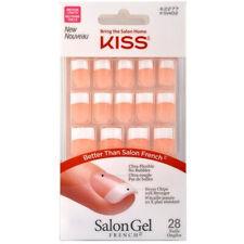 Kiss - Salón Acrílico Francés Uña Kit Azúcar Prisa - 1 Pack
