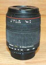 Sigma Zoom 28-300mm 1:3.5-6.3 DG Marco Japan Made Camera Lens **READ**