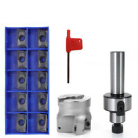 C3/4-FMB22 Straight Shank Extension Rod Face End Mill Cutter + APMT1604