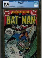 BATMAN #247 CGC 9.4 NEAR MINT 1973 DC COMICS OFF WHITE TO WHITE PAGES BLUE LABEL