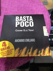 ANONIMO EMILIANO CD SINGLE 4 tracce BASTA POCO + OGNI VOLTA Vasco Rossi PROMO