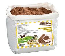 Humusziegel natürliches Terrariensubstrat | Kokoserde Einstreu - 20 Liter Beutel