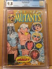 New Mutants 87 CGC 9.8 W GOLD 1st Cable & Stryfe NM/M 2nd Print X-Men 1568570003