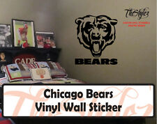 Chicago Bears Custom Vinyl Wall Sticker