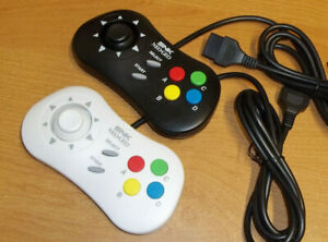 SNK Neo Geo Controller Pad AES, MVS & CD 15-pin, with custom clicky thumbstick