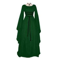 Deman Kleid Kostüm Gothic Barock Mittelalter Damen Kostüm Prinzessin Kleid