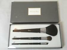 New In Box Christian Dior 3 Full Size Make Up Brush Set