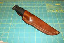 Custom Leather Knife Sheath Fit MORA GARBERG &  Kansbol, RH Belt, Friction Fit