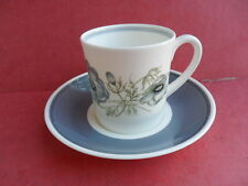 Wedgwood/Susie Cooper Glen Mist, Coffee Cup (Can) & Saucer (B) REDUCED!