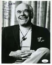 Frank Capra JSA Coa Signed 8x10 Photo Autograph