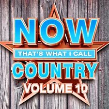 NOW That's What I Call Country, Vol. 10 by Various Artists (CD, Jun-2017) NEW
