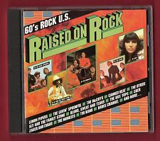 RAISED ON ROCK (1989 14 trk CD) Byrds, Box Tops, McCoys, The Band, Canned Heat