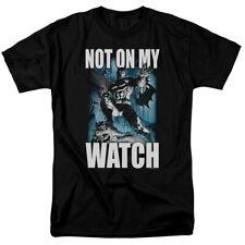 Batman Not On My Watch T Shirt Licensed Comic Book Tee Black
