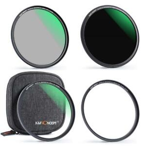K&F Concept magnetic filter kit MCUV+CPL+ND1000 49/52/55/58/62/67/72/77/82mm