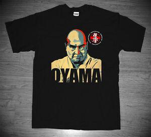 New Master Masutatsu Mas Oyama Kyokushin Kai Karate Founder Dojo T-shirt