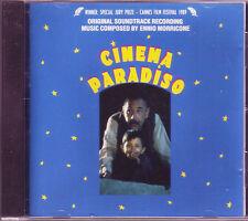 Cinema Paradiso Cd soundtrack Ennio Morricone on Drg