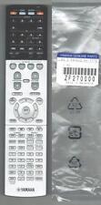 New Genuine Yamaha Receiver Remote Control RAV502 ZF27000 RX-V775 RX-V775WA