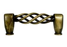 New  Antique Brass Bird Cage Cabinet Pull Knob 8011