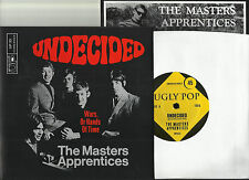 MASTER'S APPRENTICES -undecided-Single re of 1966-Garage Punk + Insert Beilage