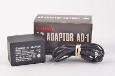 GENUINE NIB CANON AD-1 120V AC ADAPTER
