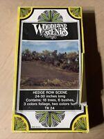 Woodland Scenics TK24 Hedge Row Scene Kit 724771000242 for sale online