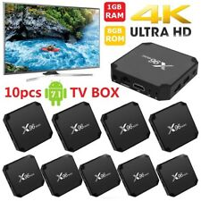 10pcs X96 mini TV Box 4K Android 7.1 1G 8G S905W WiFi 3D HD Media Player W0M1L