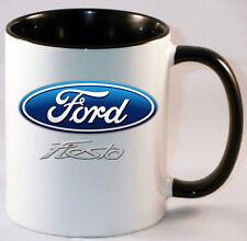 FORD FIESTA DESIGN CAR ART MUG GIFT CUP .