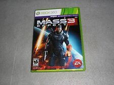 Mass Effect 3 for Xbox 360 MINT COMPLETE TESTED & WORKING Game