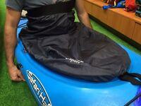 Nylon Kayak Spray Skirt Deck Adjustable Spraydeck Sprayskirt Large Cockpit
