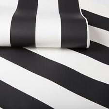 Superfresco Easy Monochrome Striped Wallpaper