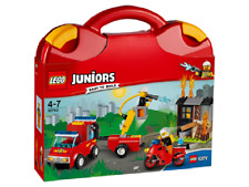 BRAND NEW LEGO JUNIORS EASY TO BUILD FIRE PATROL SUITCASE 10740