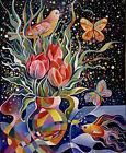 """Spring Still Life '' Oil Painting By Tatiana Oles"