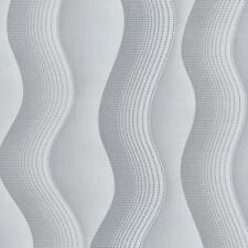 Vlies Tapete Dieter Bohlen Studio Line 02427-10 grau weiß silber Wellen Streifen