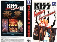 (VHS) KISS - Animalize- Live Uncensored - Rock And Roll All Night, u.a. (1984)