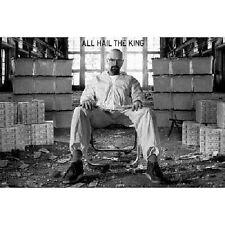 Breaking Bad - All Hail the King - Walter White TV Poster art print Heisenberg