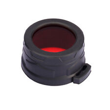 NiteCore NFR40 40mm Red Lens Cap Filter Diffuser for CU6 CI6 CR6 CG6 CB6