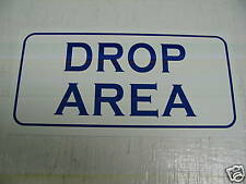 Vintage Style DROP AREA Metal Sign Golf NEW Course Ball