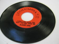 Claude King I Can't Get Over The Way/Comancheros 45 RPM