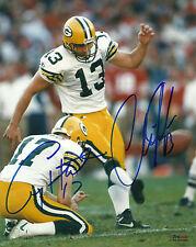 Packers CHRIS JACKE & CRAIG HENTRICH Dual Signed 8x10 Photo #1 AUTO SB XXXI