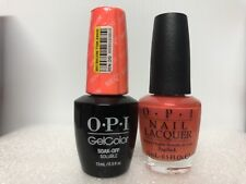 Opi Gelcolor + Matching Gel Polish Down To The Core-Al (Nl N38/ Gc N38)