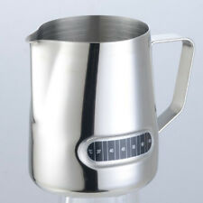 600ml Frothing Pitcher Stainless Steel Coffee Milk Latte Jug Temperature Display