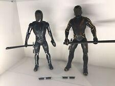 """Disney Tron Legacy 12"""" Sam Flynn & Clu Figure Ideal With Hot Toys"""