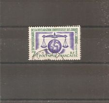 TIMBRE POLYNESIE FRANKREICH 1963 N°25 OBLITERE USED