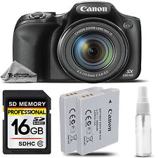 Canon PowerShot SX530 HS Wi-Fi/NFC Digital Camera 16MP 50x Optical Zoom + 16GB