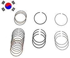 Standard Engine Piston Ring Set Fits Hyundai Accent 1.6L L4 01-05 2304026101STD