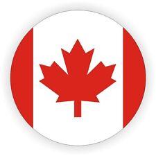 Canadian Flag Hard Hat Sticker | Welding Helmet Decal | Label Emblem Canada CA